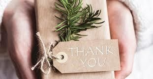 A WARM THANK YOU TO EVERYONE