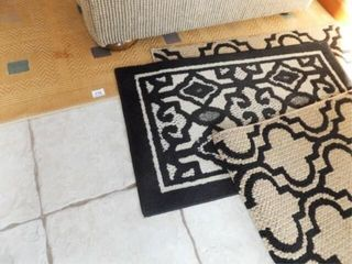 Jute Area Rug  85  x 60  Accent Rugs  3