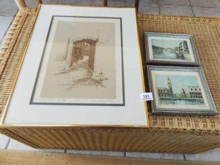 Artwork  Framed  Signed  3