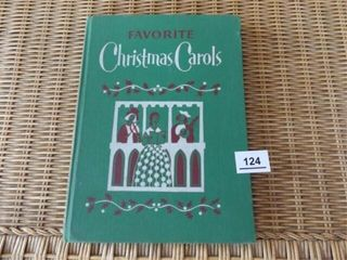 1957 Favorite Christmas Carols Book