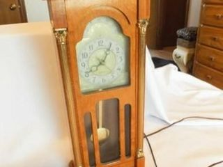 United Clock  Electric  Grandfather Style