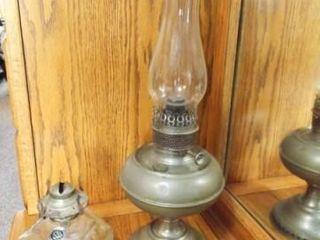 B H Oil lamp  lamplight Farms lamp Base