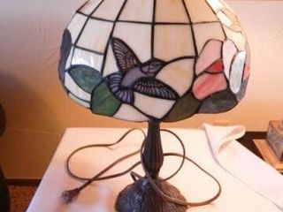 Stained Glass lamp  191 2  h