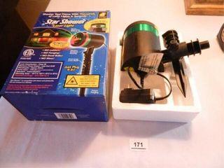 Star Shower laser light  NIB
