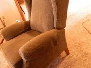 Wingback Chair sage green color