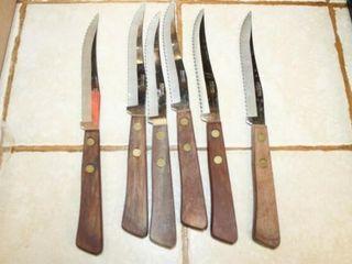 Steak Knife set  6  total