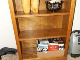 Wood Book Shelf  no contents