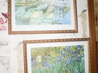 Van Gogh Monet Framed Prints