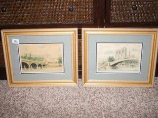 Framed Prints with Gold Frames