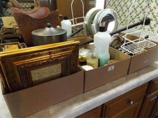 Bathroom Decor  Items  3 Boxes