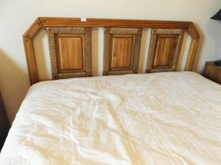 Queen Size Bed Frame  Headboard