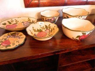 Home Trends Serving Bowls   Trivet