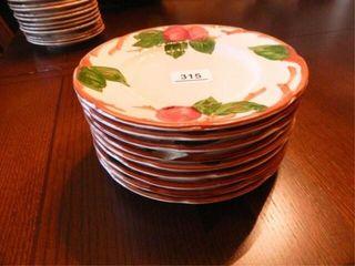 Franciscan Apple Plates   9