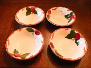 Franciscan Apple Bowls   4