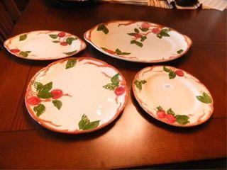 Franciscan Apple Serving Platters