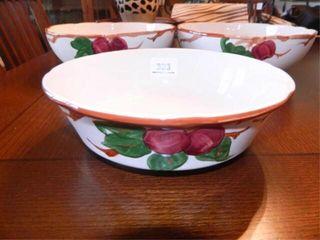 Franciscan Apple Serving Bowls