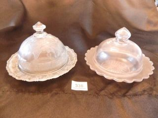 Covered Butter Dishes 2