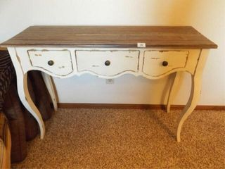 Accent Table  30  tall x 42  x 13