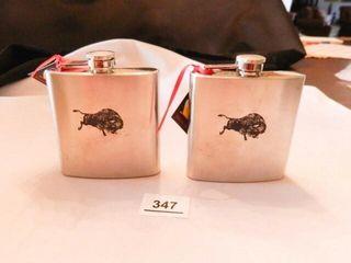 Stainless Steel Flasks w Buffalo   2
