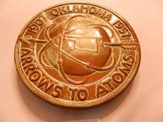 Frankoma Trivet  Arrows to Atoms