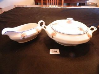 Edwin M  Knowles China Pieces  2