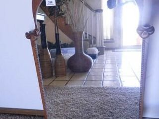 Vintage Mirror w Wooden Frame
