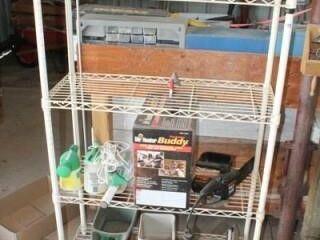 408 Shelving Unit  4 Shelves  36  x 54  x 14