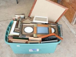 large Container full of Frames