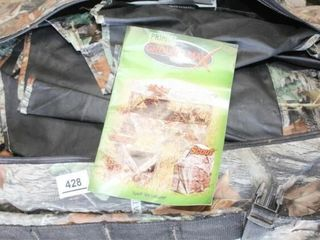 Ground Max Hunting Blind Matrix w Carry Backpack