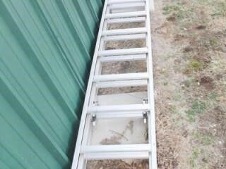 Werner Aluminum Extension ladder
