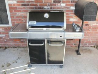 Weber Genesis Outdoor Grill with Cover