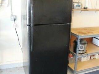 Black Frigidaire Refrigerator