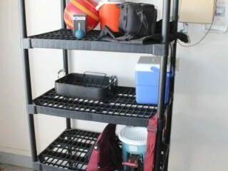 Black Shelving Unit 2  x 3  x 6