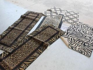6 Rugs Runners Various lengths and Patterns