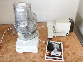 Cuisinart food Processor   Moulinex Grinder