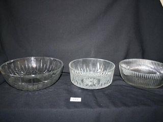Decorative Glass Bowls  Clear Glass  3
