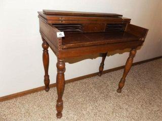 Fold Up Wood Desk
