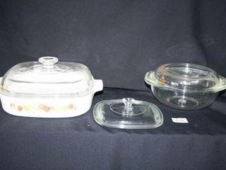 Casserole Dish leRomarin with lid  extra lid