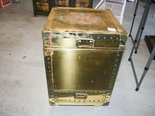 Gold lIKE storage container