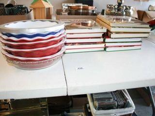 6 Pie Plates   some Williams Sonoma
