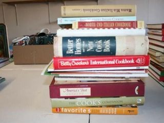 approx 11 Cook Books Magazines