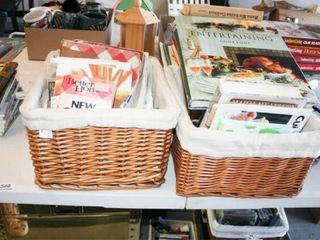 More Cookbooks and Recipes w  Baskets