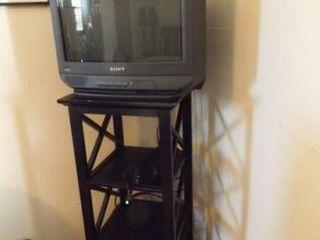 Sony TV  Black Shelf Stand  39  x 16  x 16