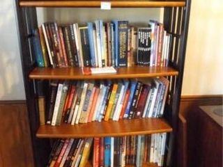 Folding Shelf Unit    no contents