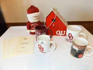 University of Oklahoma Items  5