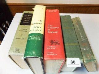 Books   History  literature  5  1950 s   60 s