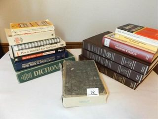 Books   mostly Dictionaries  12