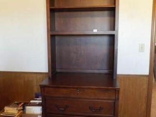 File Cabinet   Book Shelf  78  x 33  x 25