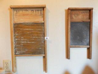 Washboards  Wood   Tin  2