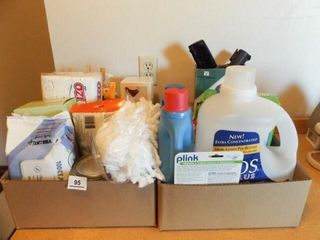 laundry  Cleaning Supplies  2 Boxes